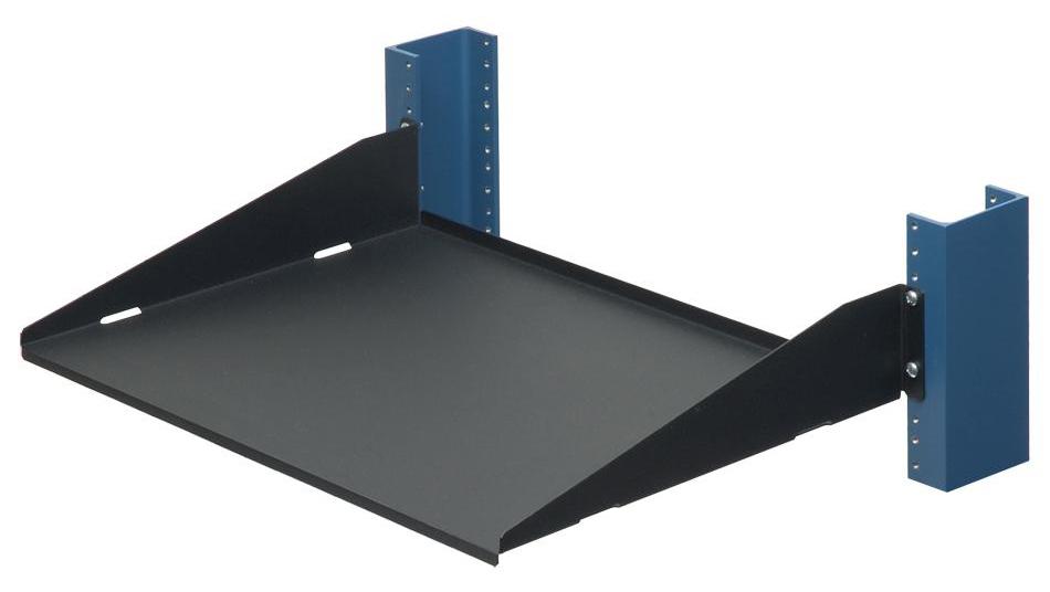 a0445191 2 post rack shelf 13 compatible rack mount. Black Bedroom Furniture Sets. Home Design Ideas