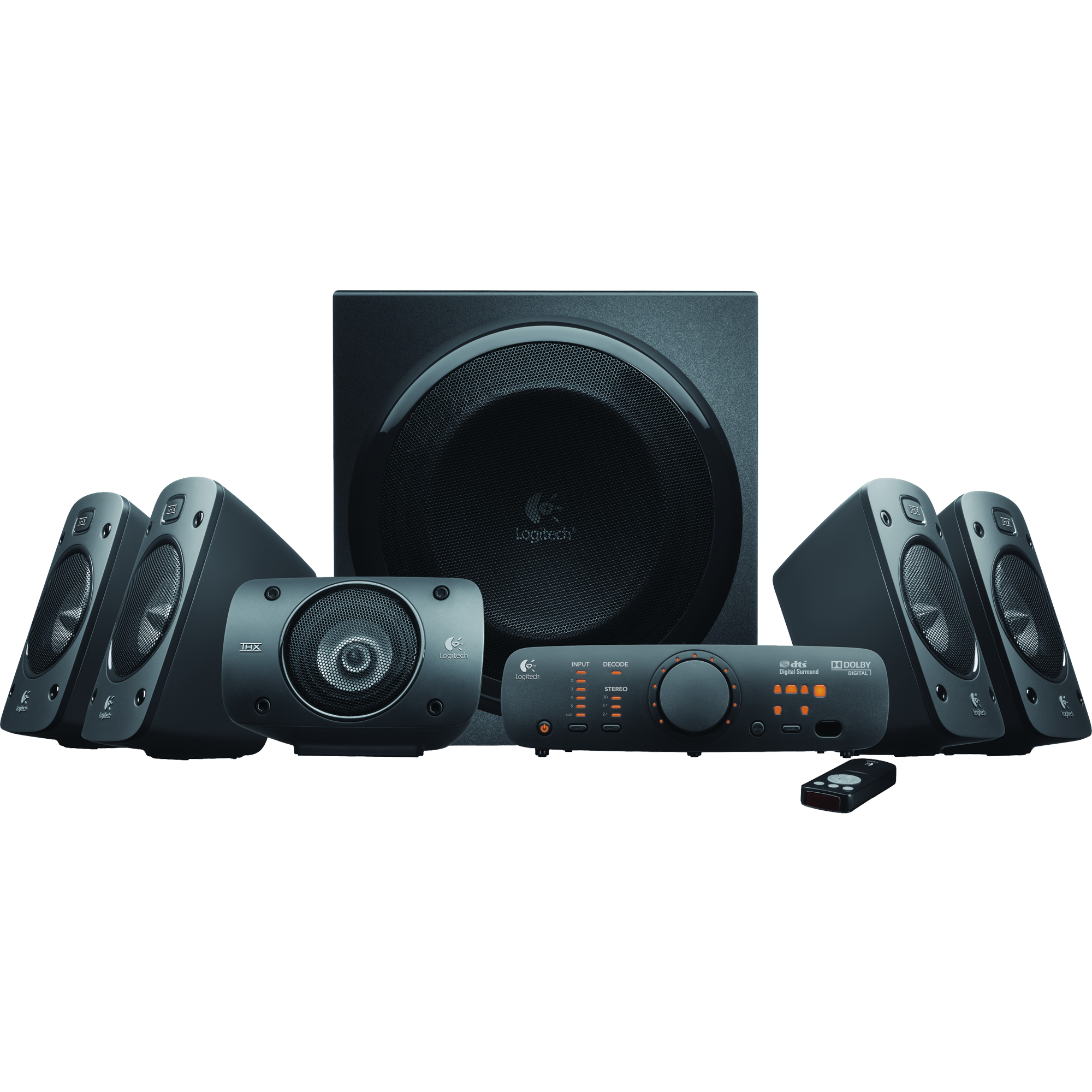 Logitech Z-906 THX Certified 5.1 Surround Sound Speakers